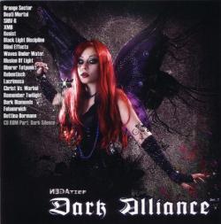 """Cover der CD """"Dark Alliance vol. 7 (Sampler)""""; der Band """"NEGAtief (Magazin)"""""""