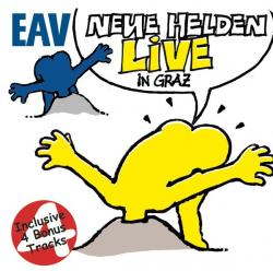 """Cover der CD """"Neue Helden braucht das Land""""; der Band """"EAV"""""""