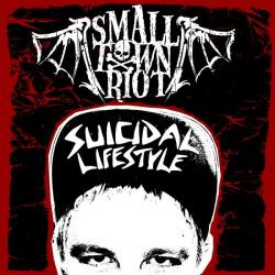 "Cover der CD ""Suicidal Lifestyle""; der Band ""Small Town Riot"""