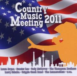 "Cover der CD ""Country Music Meeting 2011""; der Band ""Diverse"""