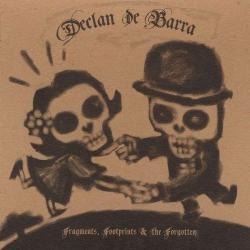 "Cover der CD ""Fragments, Footprints And The Forgotten""; der Band ""Declan De Barra"""