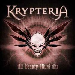 "Cover der CD ""All Beauty Must Die""; der Band ""Krypteria"""