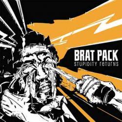 """Cover der CD """"Stupidity returns""""; der Band """"Brat Pack"""""""