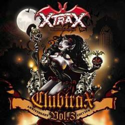 "Cover der CD ""X-trax Clubhits Vol.3 Anniversary Edition""; der Band ""Various"""