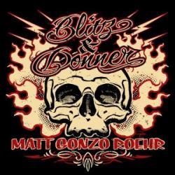 """Cover der CD """"Blitz & Donner""""; der Band """"Matt"""""""