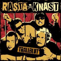 "Cover der CD ""Trallblut""; der Band ""Rasta Knast"""