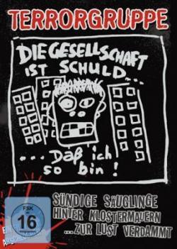 """Cover der CD """"Sündige Säuglinge hinter Klostermauern""""; der Band """"Terrorgruppe"""""""