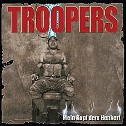"""Cover der CD """"Mein Kopf dem Henker""""; der Band """"Troopers"""""""