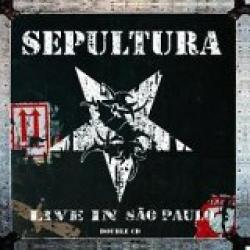 "Cover der CD ""Live in Sao Paulo""; der Band ""Sepultura"""