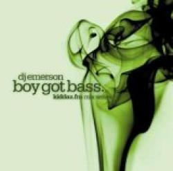 "Cover der CD ""Boy Got Bass""; der Band ""DJ Emerson"""