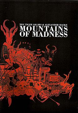 "Cover der CD ""Various Artists - Mountains of Madness""; der Band ""Alexander Hacke and the Tiger Lillies"""