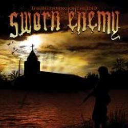 """Cover der CD """"Beginning of the End""""; der Band """"Sworn Enemy"""""""