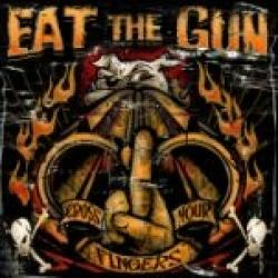 "Cover der CD ""Cross Your Fingers""; der Band ""EAT THE GUN"""