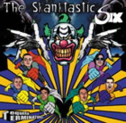 "Cover der CD ""The Skantastic Six""; der Band ""Tequila Terminators"""