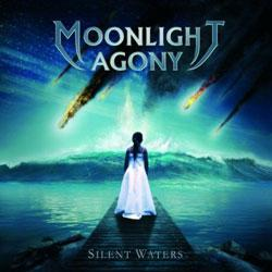 "Cover der CD ""Silent Waters""; der Band ""Moonlight Agony"""