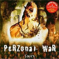 """Cover der CD """"Faces""""; der Band """"Perzonal War"""""""
