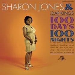 "Cover der CD ""100 Days 100 Nights""; der Band ""Sharon Jones & The Dap Kings"""
