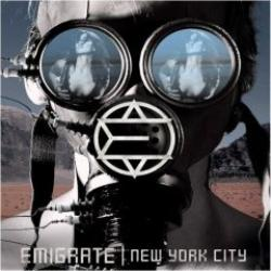 "Cover der CD ""New York City""; der Band ""Emigrate"""
