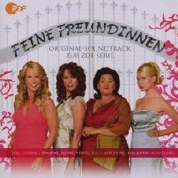 "Cover der CD ""Soundtrack zur ZDF-Serie""; der Band ""Feine Freundinnen"""