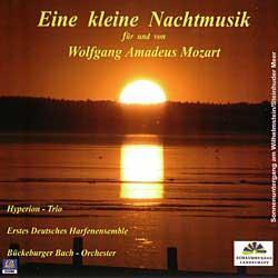 """Cover der CD """"Eine kleine Nachtmusik""""; der Band """"Bückeburger Bach Orchester und Andere"""""""