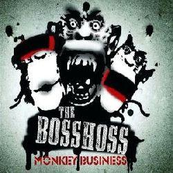 "Cover der CD ""Monkey Business""; der Band ""The BossHoss"""