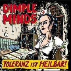 "Cover der CD ""Toleranz ist heilbar""; der Band ""Dimple Minds"""