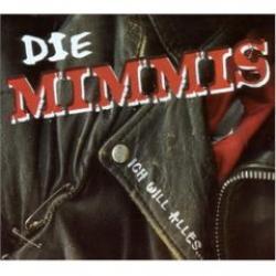 """Cover der CD """"Ich will alles und noch mehr""""; der Band """"Die Mimmis"""""""