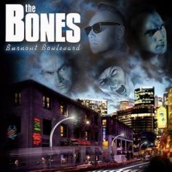 """Cover der CD """"Burnout Boulevard""""; der Band """"The Bones"""""""