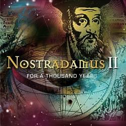 "Cover der CD ""For A Thousand Years""; der Band ""Nostradamus II"""