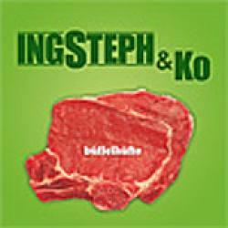 "Cover der CD ""Büffelhüfte""; der Band ""IngSteph & Ko"""