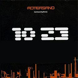 """Cover der CD """"1023""""; der Band """"Rotersand"""""""