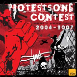 "Cover der CD ""Protestsongcontest 2004-2007 (Rabenhof Theater)""; der Band ""V.A."""