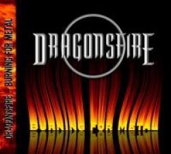 """Cover der CD """"Burning for Metal""""; der Band """"Dragonsfire"""""""