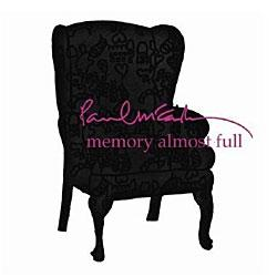 "Cover der CD ""Memory Almost Full""; der Band ""Paul McCartney"""