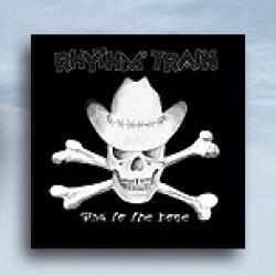 "Cover der CD ""Bad To The Bone""; der Band ""Rhythm Train"""