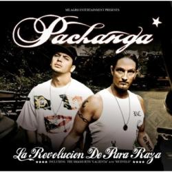 "Cover der CD ""La revolucion de pura raza""; der Band ""Pachanga"""