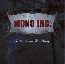 """Cover der CD """"Pain, Love & Poetry""""; der Band """"Mono Inc."""""""