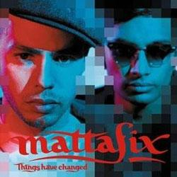 "Cover der CD ""Things have Changed""; der Band ""mattafix"""