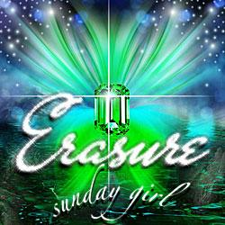 "Cover der CD ""Sunday Girl""; der Band ""Erasure"""