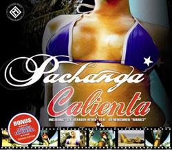 "Cover der CD ""Calienta""; der Band ""Pachanga"""