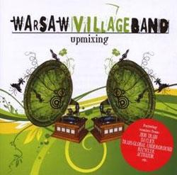 "Cover der CD ""upmixing""; der Band ""Warsaw Village Band"""