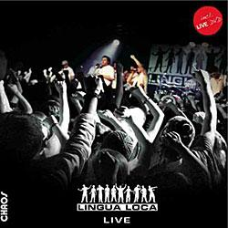 "Cover der CD ""Live""; der Band ""Lingua Loca"""