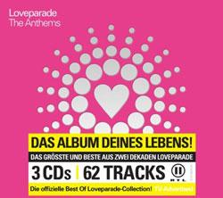 "Cover der CD ""The Anthems""; der Band ""Loveparade"""
