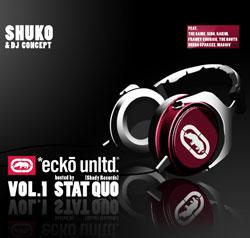 "Cover der CD ""VOLUME 1""; der Band ""ECKO UNLIMITED EDITION"""