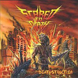 """Cover der CD """"Scared to Death""""; der Band """"Deathstruction"""""""