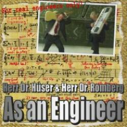 "Cover der CD ""As An Engineer""; der Band ""Dr. Hüser & Herr Dr. Romberg"""