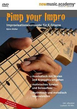 "Cover der CD ""Pimp Your Impro""; der Band ""Björn Müller"""