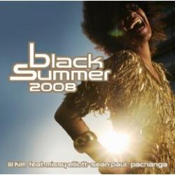 "Cover der CD ""Black Summer 2008""; der Band ""Various"""