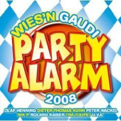 "Cover der CD ""Partyalarm Wies"
