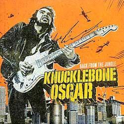 """Cover der CD """"BACK FROM THE JUNGLE""""; der Band """"KNUCKLEBONE OSCAR"""""""